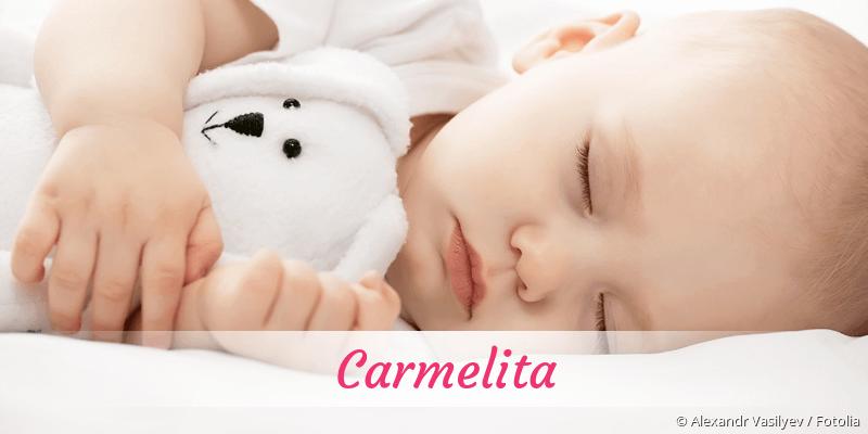 Name Carmelita als Bild