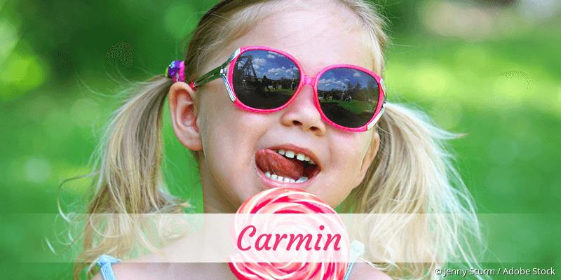 Name Carmin als Bild