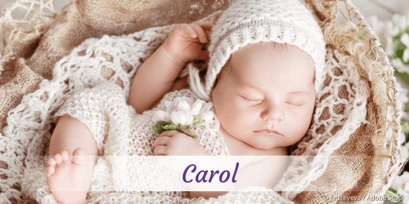 Name Carol als Bild