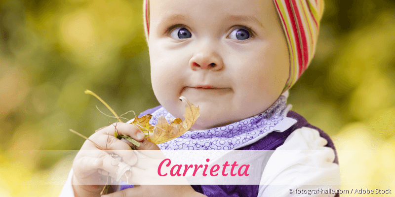 Name Carrietta als Bild