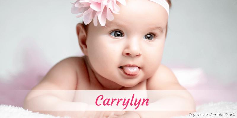 Name Carrylyn als Bild