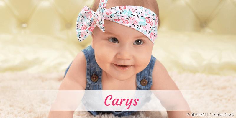 Name Carys als Bild