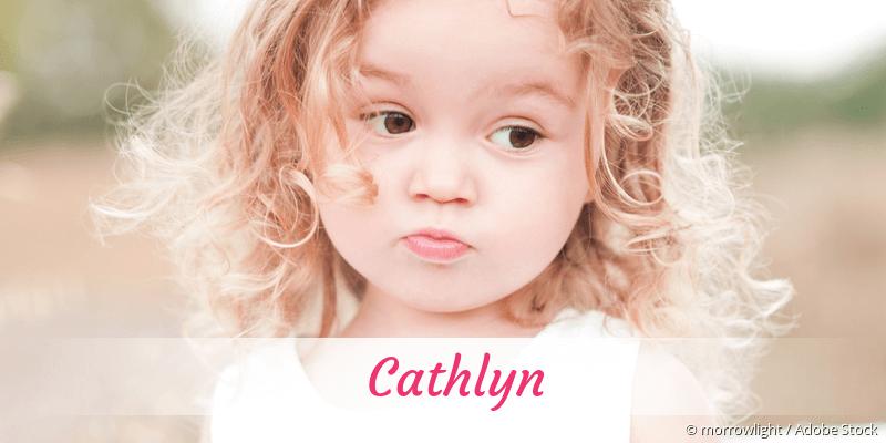 Name Cathlyn als Bild