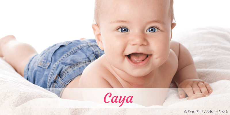 Name Caya als Bild