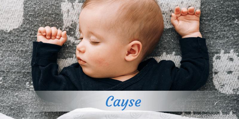 Name Cayse als Bild