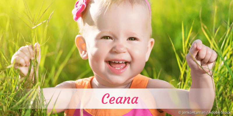 Name Ceana als Bild