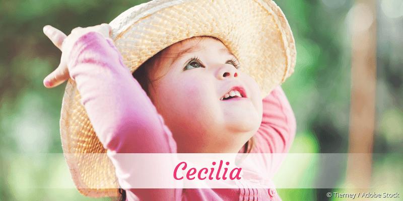 Name Cecilia als Bild