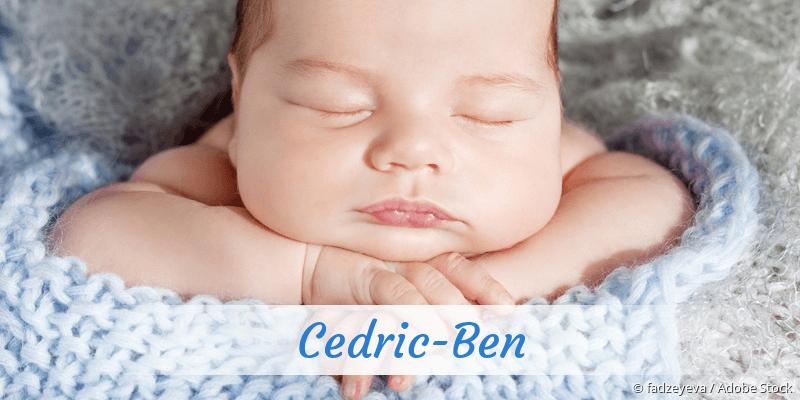 Name Cedric-Ben als Bild