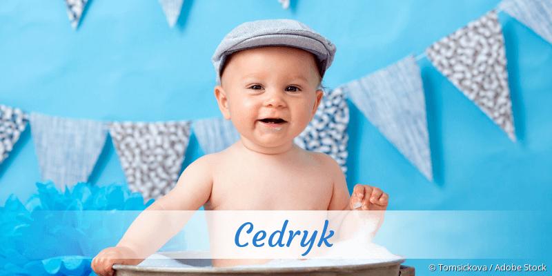 Name Cedryk als Bild
