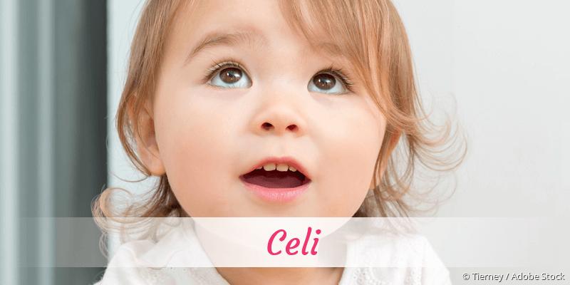 Name Celi als Bild