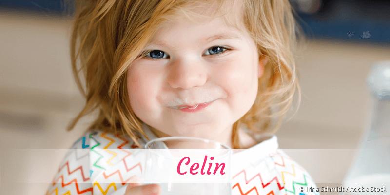 Name Celin als Bild