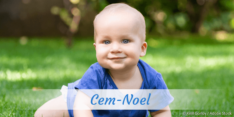 Name Cem-Noel als Bild