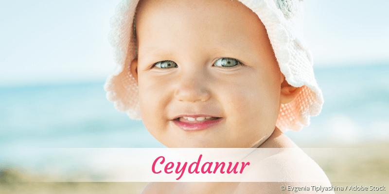 Name Ceydanur als Bild