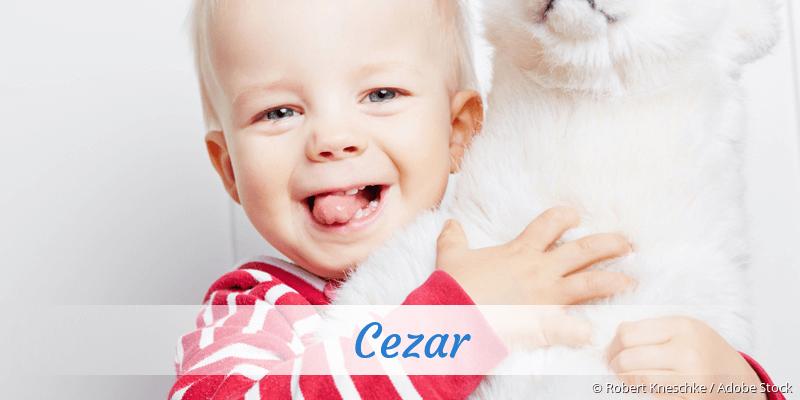Name Cezar als Bild