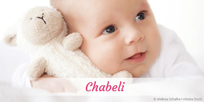 Name Chabeli als Bild