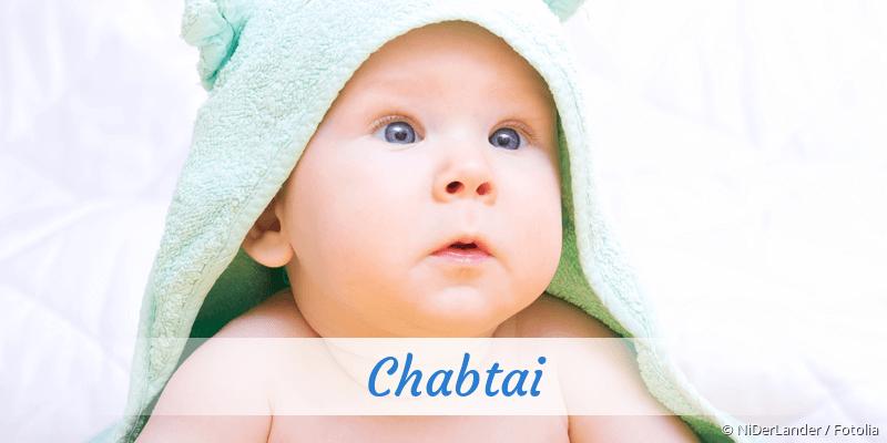Name Chabtai als Bild