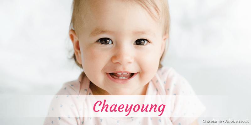Name Chaeyoung als Bild