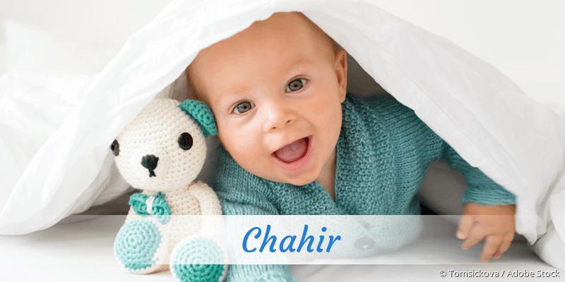Name Chahir als Bild