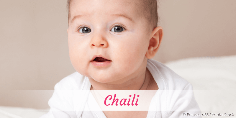 Name Chaili als Bild