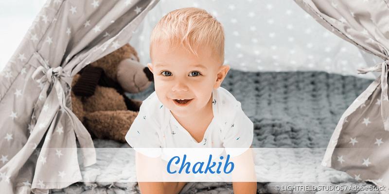 Name Chakib als Bild