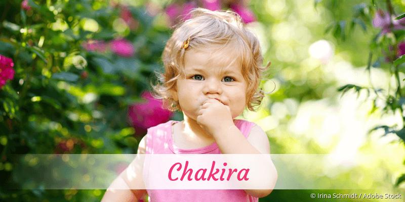 Name Chakira als Bild