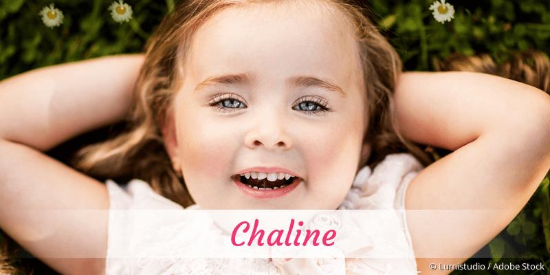 Name Chaline als Bild