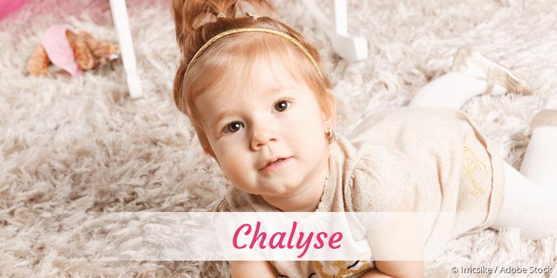 Name Chalyse als Bild