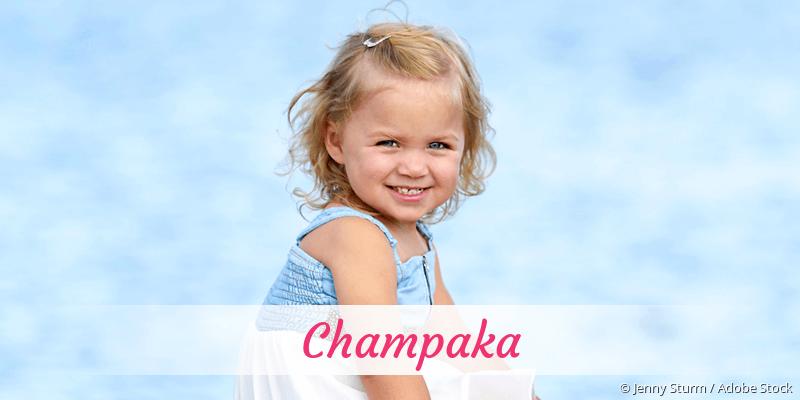 Name Champaka als Bild