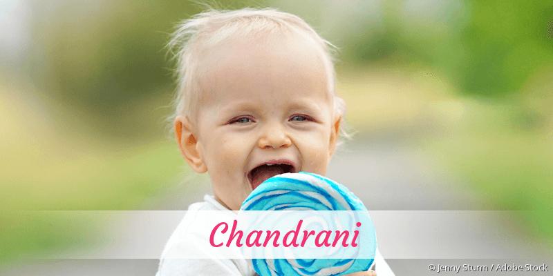 Name Chandrani als Bild