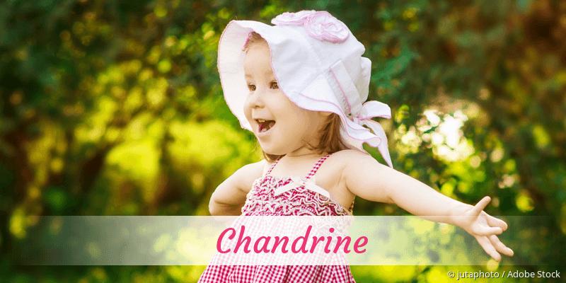 Name Chandrine als Bild