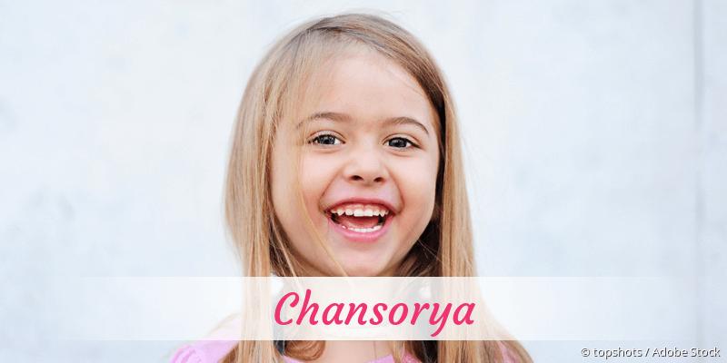 Name Chansorya als Bild