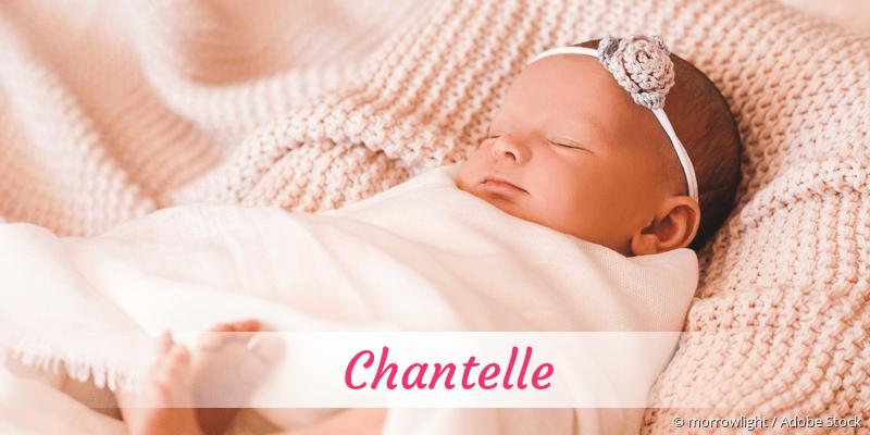 Name Chantelle als Bild