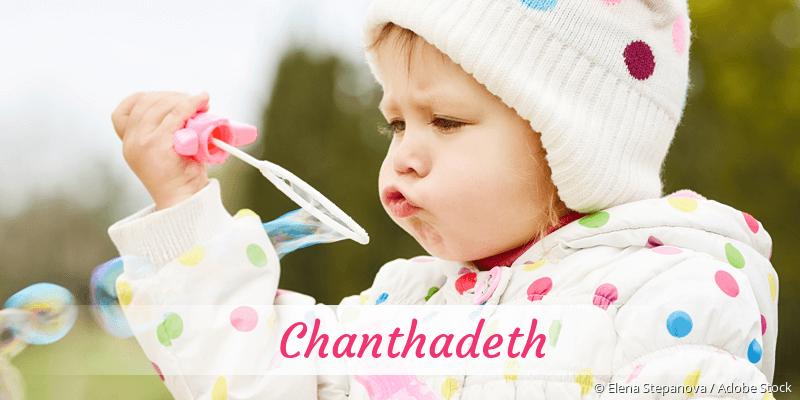 Name Chanthadeth als Bild