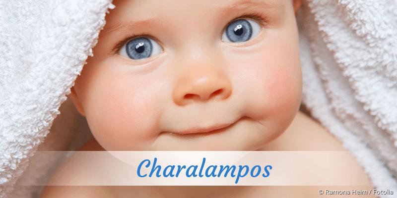 Name Charalampos als Bild