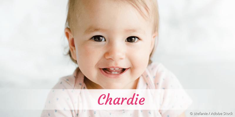 Name Chardie als Bild