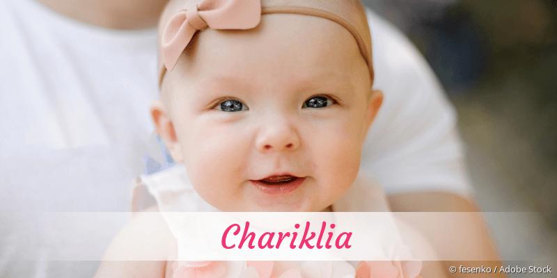 Name Chariklia als Bild