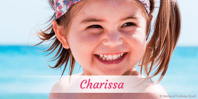 Name Charissa als Bild