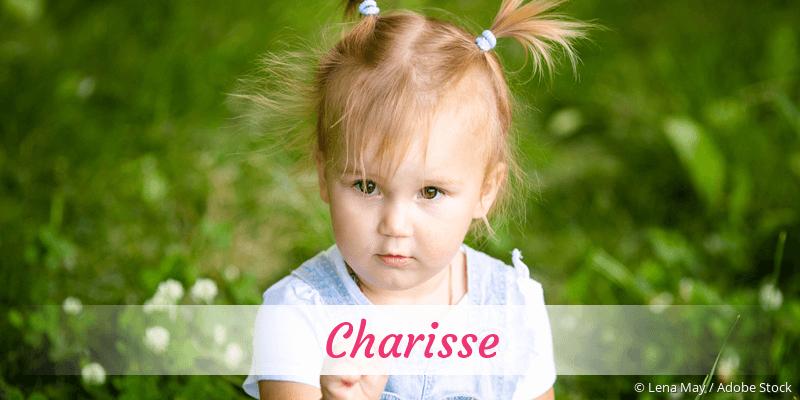 Name Charisse als Bild