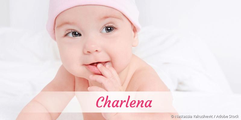 Name Charlena als Bild