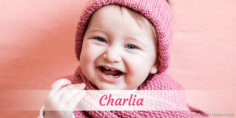 Name Charlia als Bild