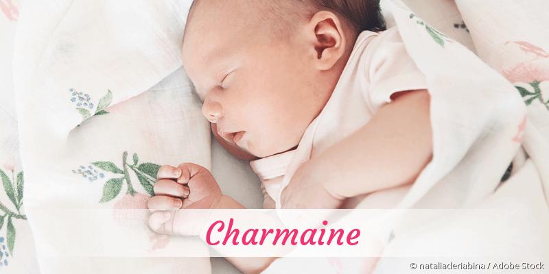 Name Charmaine als Bild