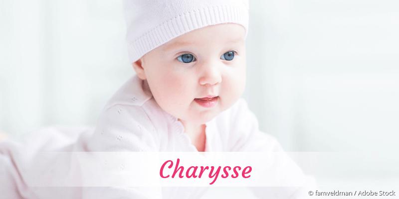 Name Charysse als Bild
