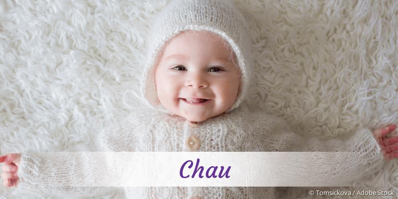 Name Chau als Bild