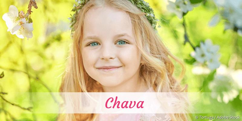 Name Chava als Bild