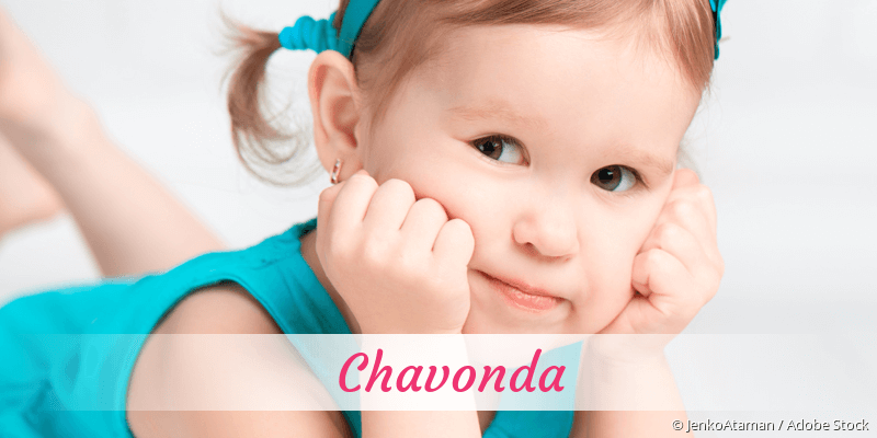 Name Chavonda als Bild