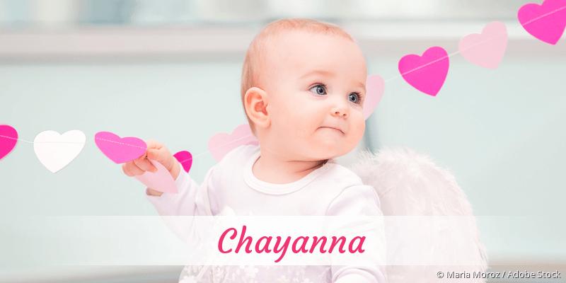 Name Chayanna als Bild