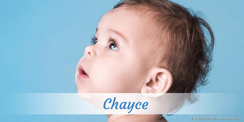 Name Chayce als Bild