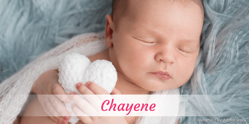 Name Chayene als Bild