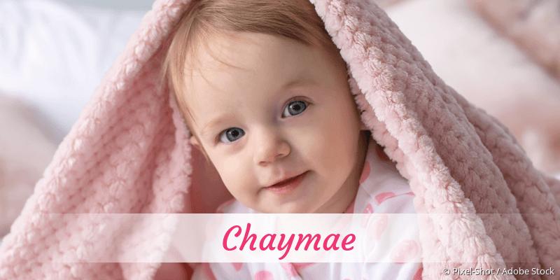 Name Chaymae als Bild