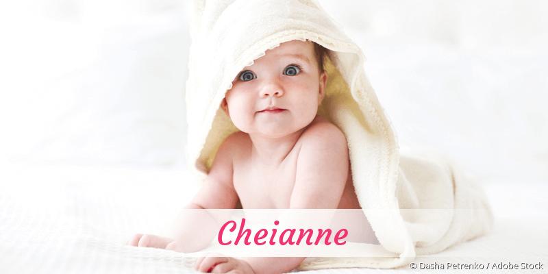 Name Cheianne als Bild